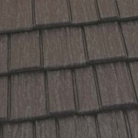 Country Manor Shake Metal Roof - Weathered Wood
