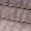 Oxford Shingle Metal Roof - Slate Rock Red