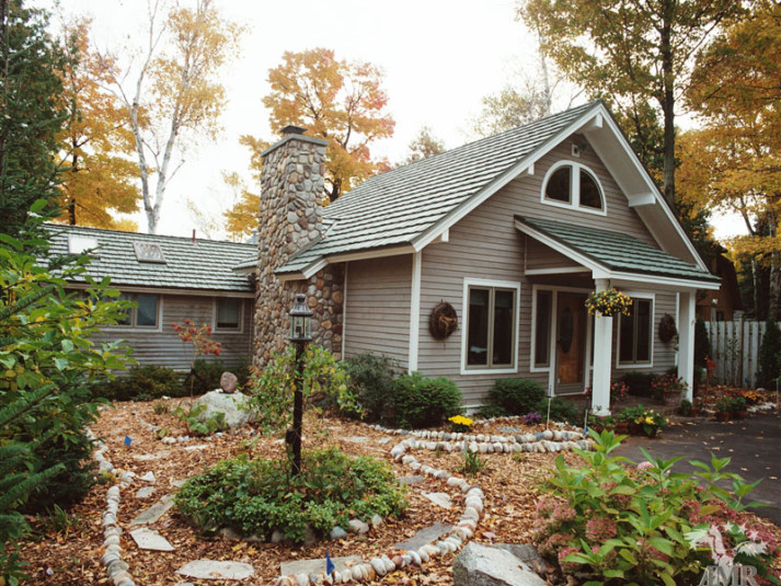 Country Manor Shake Metal Roof - Copper Patina