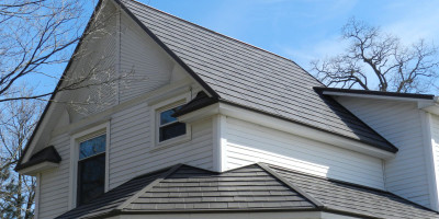 Oxford Shingle Metal Roof - Shake Gray